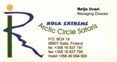 Artic Circle Safaris