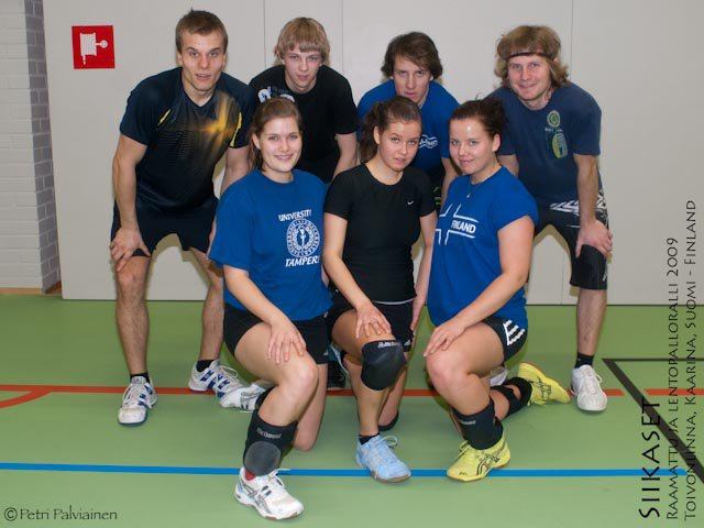 Siikaset - Volleyball 12th place