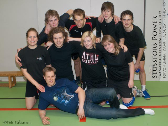 Slussfors Power, Sweden - Volleyball 5th place