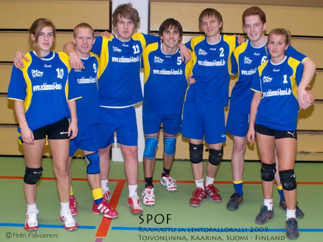 SPOF, Sweden - Volleyball 5th place